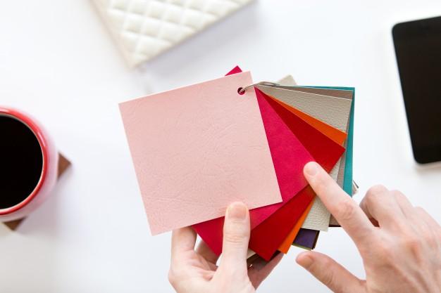 Keuze uit verschillende kleuren en materialen